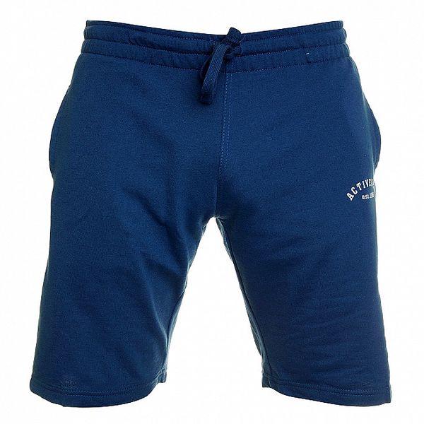 Pánské zářivě modré sportovní bermudy Chaser