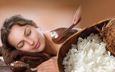 Opravdový relax díky ČOKOLÁDOVÉ MASÁŽI V DÉLCE AŽ 100 MINUT v kombinaci s kokosovým PEELINGEM již od 199 Kč! Další varianty nabízejí také MASÁŽ RUKOU, OBLIČEJE A PARAFÍNOVÝ ZÁBAL! Dopřejte si uvolnění díky slevě až 68%!