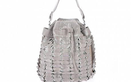 Dámska béžová kabelka so sťahovacou šnúrkou Marina Galanti