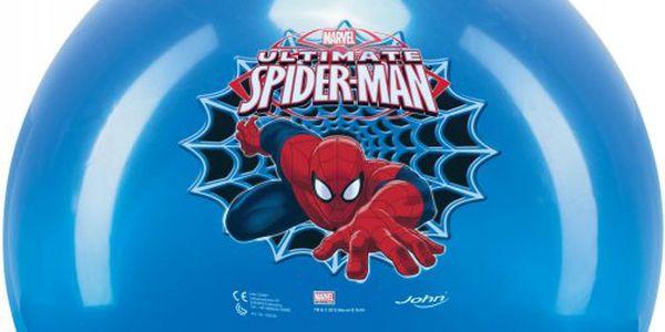 Dětské gumové hopsadlo JOHN smotivem hrdiny Spidermana.