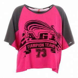 Dámské růžové-šedé tričko Santa Barbara s potiskem