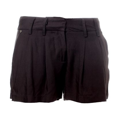 Dámske tmavo šedé šortky Santa Barbara