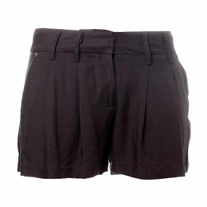 Dámské tmavě šedé šortky Santa Barbara