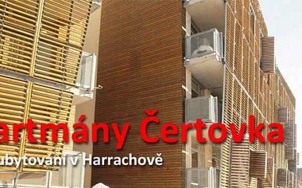 4 noci v apartmánu Čertovka v Harrachově pro 4 osoby