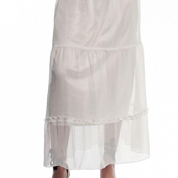 Dámska biela dlhá sukňa Cristian Lay