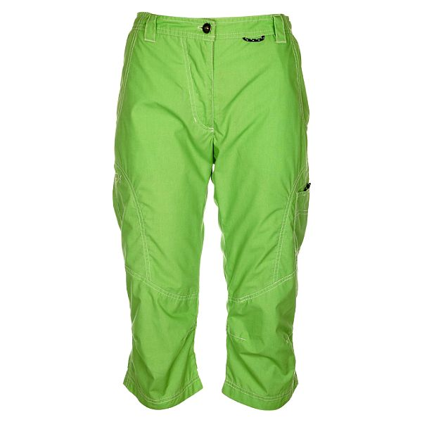 Dámske pastelovo zelené nohavice Hannah ve 3/4 dĺžke