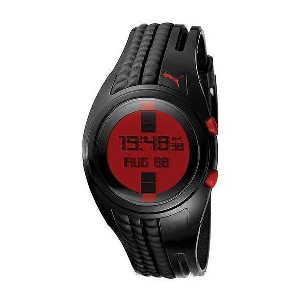 Dámské hodinky Puma černo-červené