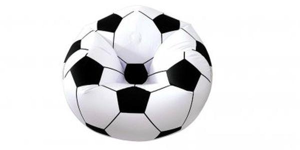 Nejnižší cena! Relaxační křeslo v designu fotbalového míče! Skvělý dárek pro malé i velké!