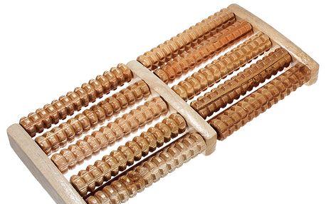 Dřevěné masážní válečky pro masáž chodidel a poštovné ZDARMA! - 150