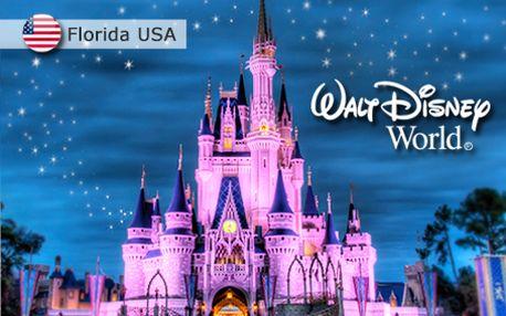 6 dní v Orlandu na Floridě pro 4 osoby! Navíc návštěva nejen Disney Worldu®.