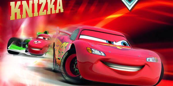 Auta 2 - Magnetická knížka - 8 magnetických stran a více než 20 magnetů.