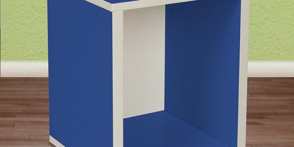 Police Cube Plus, modrá. Zkroťte nezbedné hračky svých nejmenších!