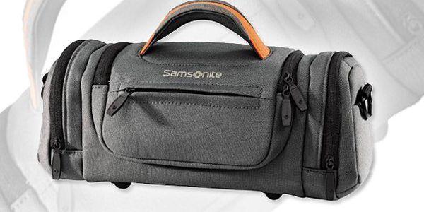 Kvalitní značková brašna Samsonite na kameru nebo fotoaparát. Kvalitní brašna zabezpečí Vaše vybavení! Jedinečná cena!