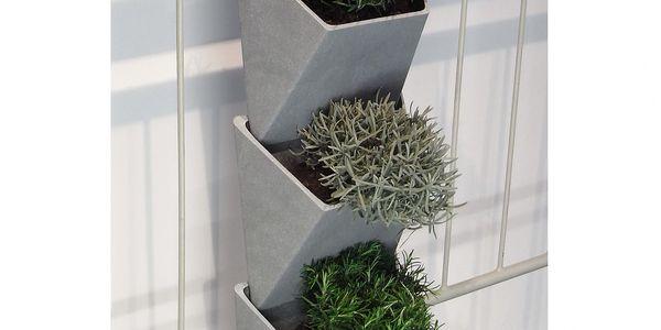 Květináč VertVert - autor německý architekt a designér Michael Hilgers