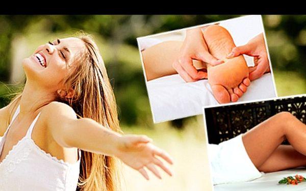 REFLEXNÍ lymfatická MASÁŽ s 57% slevou: Objevte jednu z nejúčinnějších detoxikačních procedur, jež dokáže dokonale rozproudit lymfu. Ulevte tělu od zdravotních potíží, zbavte se bolesti zad, hlavy, otoků nohou i negativní energie.
