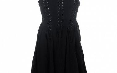 Dámske čierne korzetové šaty 13 Cats