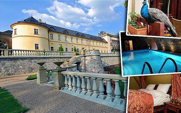 3denní pobyt pro dva v přepychovém Chateau hotelu Zbiroh