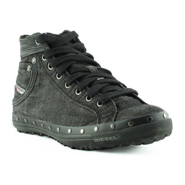Dámské kotníkové boty Diesel černé džínové 40