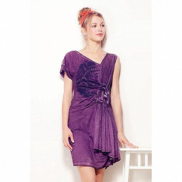 Dámské purpurové šaty Angels Never Die