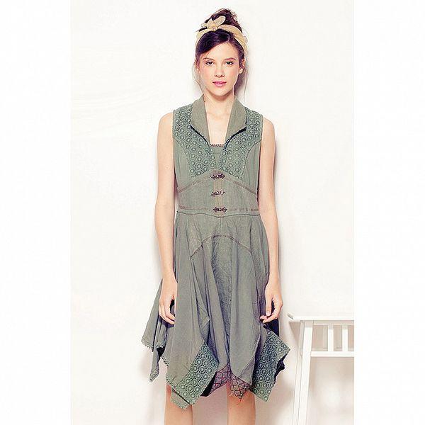 Dámské zelené šaty Angels Never Die