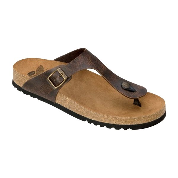 Dámské sandály Dr Scholl tmavě hnědé 39