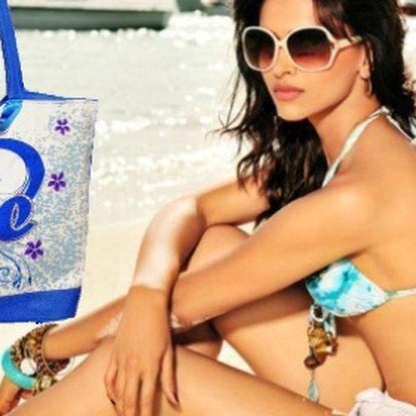 Plážová taška v deviatich farbách za 6,50 € vrátane poštovného!