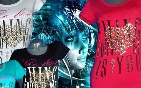 Dámske tričko The best za 6,50 € vrátane poštovného!