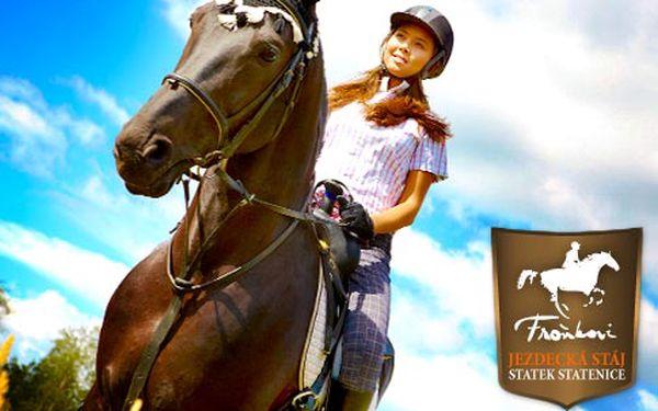 Projížďka na koni na Statku Statenice