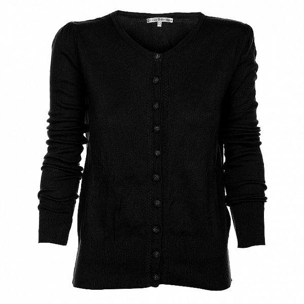 Dámský černý kardigan Uttam Boutique