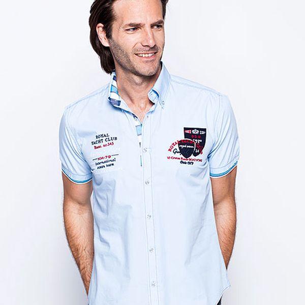 Světle modrá košile Royal