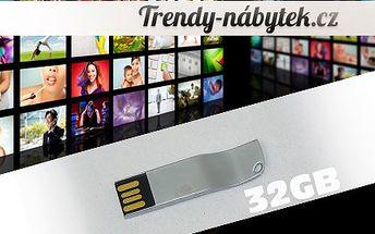 Kovový USB Flash Disk 32GB i s poštovným!