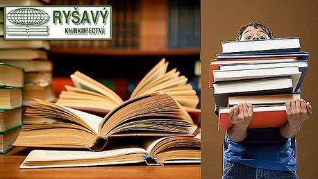 Vybrané knihy nakladatelství Šimon Ryšavý se slevou 40 - 50%. Vyberte si knihu podle svého gusta a podpořte brněnského knihkupce!