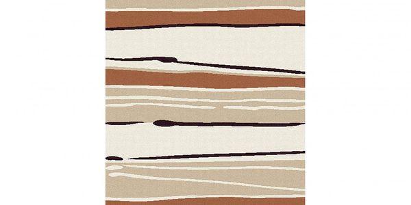Koberec Moonwalk 80x150 cm - díky zemitým barvám a vzorům vhodný do jakéhokoli interiéru