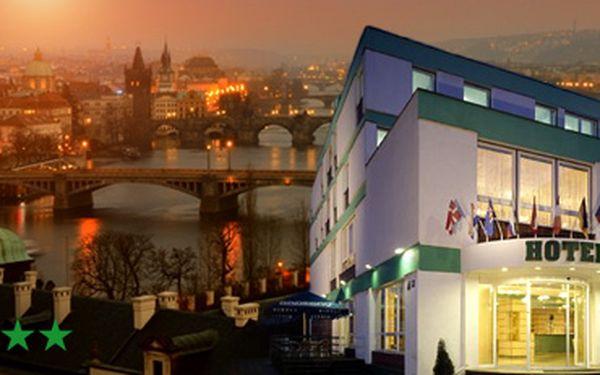 Výhodný wellness pobyt ve známém pražském 3hvězdičkovém Hotelu Golf