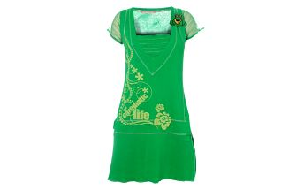 Dámské zelené šaty s žabkou Savage Culture