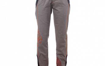 Dámské šedé kalhoty s černými lemy Savage Culture