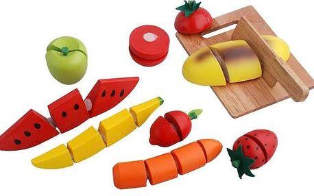 Didaktická hračka Krájení ovoce