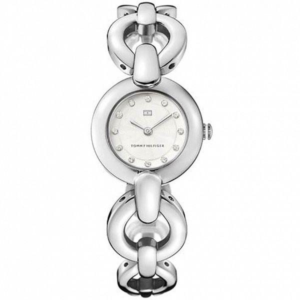 Dámské ocelové hodinky Tommy Hilfiger