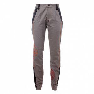 Dámske šedé nohavice s čiernymi lemami Savage Culture
