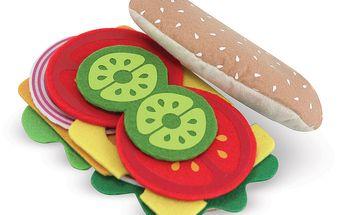 Hravý sendvičový set - Připrav si svůj sendvič z 33 různých surovin
