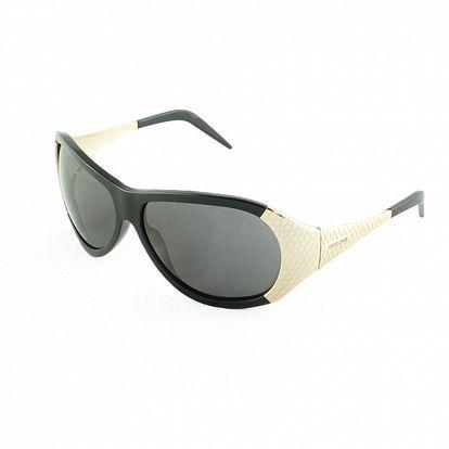 Dámské černo-zlaté sluneční brýle Roberto Cavalli