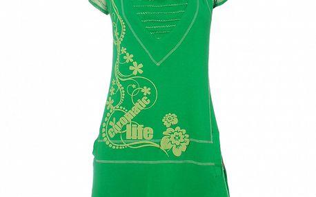 Dámske zelené šaty s žabkou Savage Culture