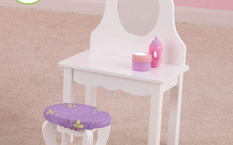 Toaletní stolek pro panenky od jedinečné značky KidKraft