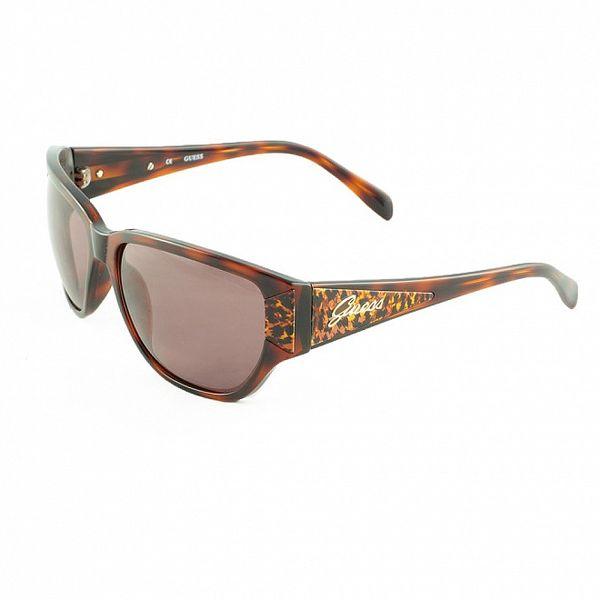 Dámské jantarové sluneční brýle Guess