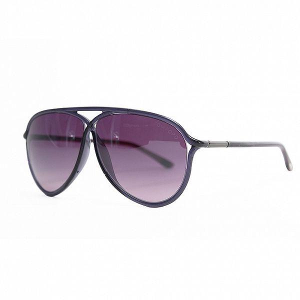 Dámské fialové sluneční brýle Tom Ford