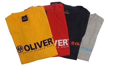 Nová kolekce, nové letní barvy: Vkusná bavlněná sportovní trička OLIVER!