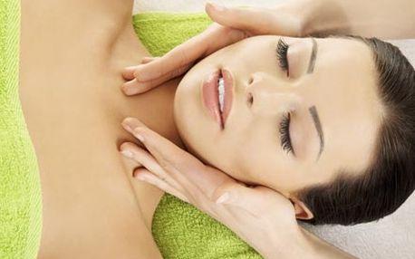 Lymfatická masáž obličeje, krku a dekoltu, mikroma...