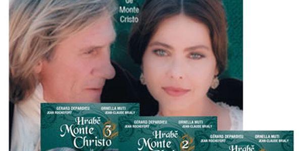 Hrabě Monte Christo - seriál 4DVD