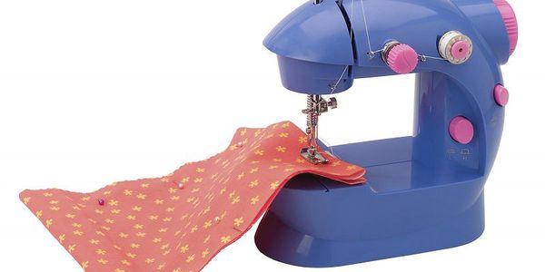 Alextoys Šicí stroj v kufříku 27x24x15cm 220V - kvytvoření opravdové sukně a tašky