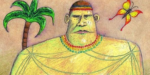 Prsatý muž a zloděj příběhů - Kniha o tom, co člověk najde na dně, když už si myslí, že nemůže dál